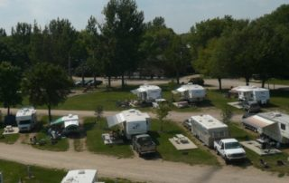 multiple rvs in rv park