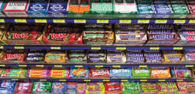 image of candy bars mints and snacks