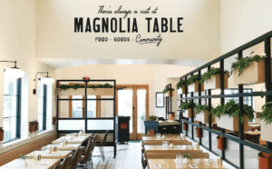 image of magnolia table restaurant logo