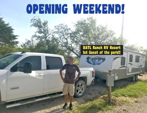 Opening Weekend!