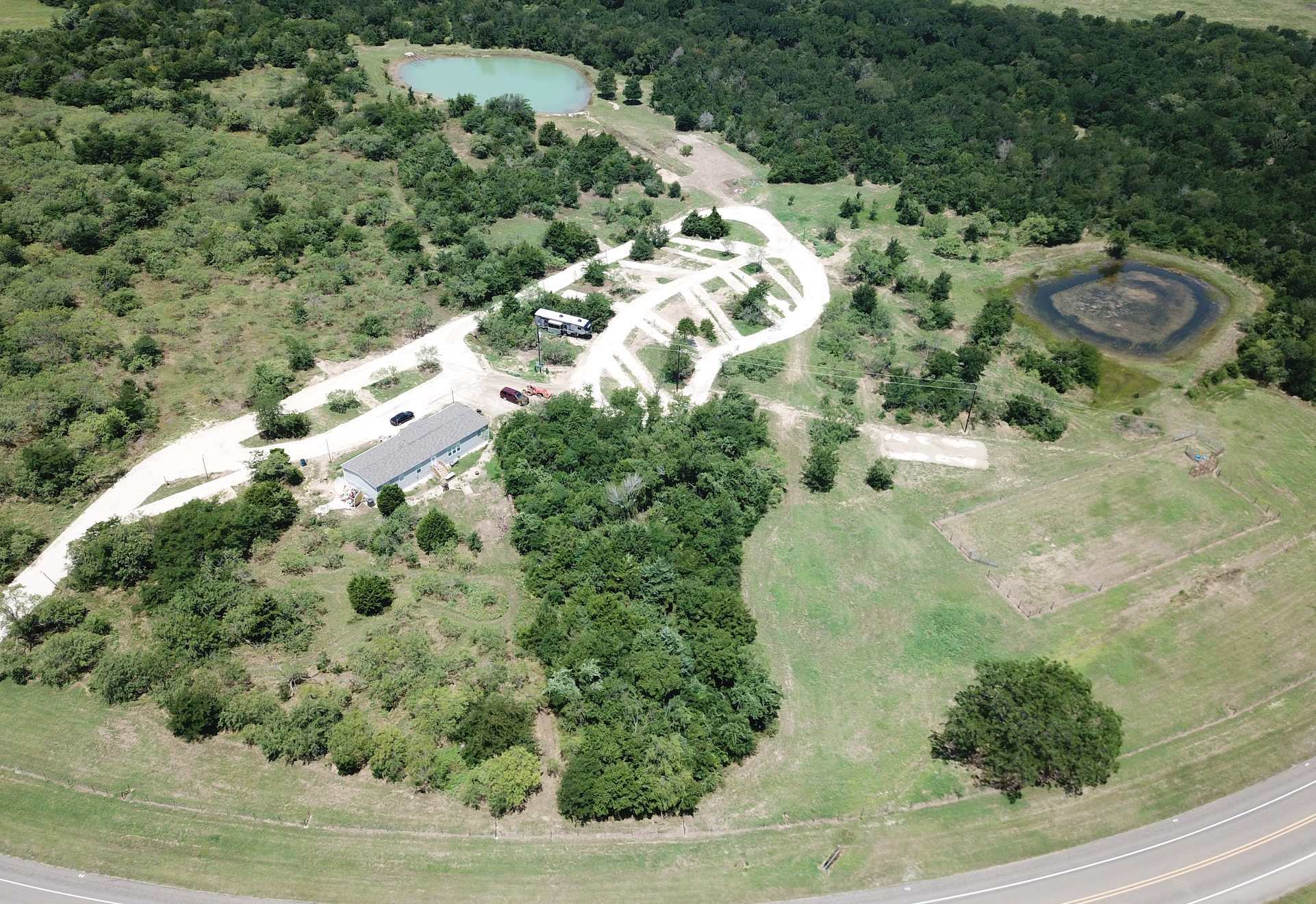 eastern aerial overview of batl ranch rv resort