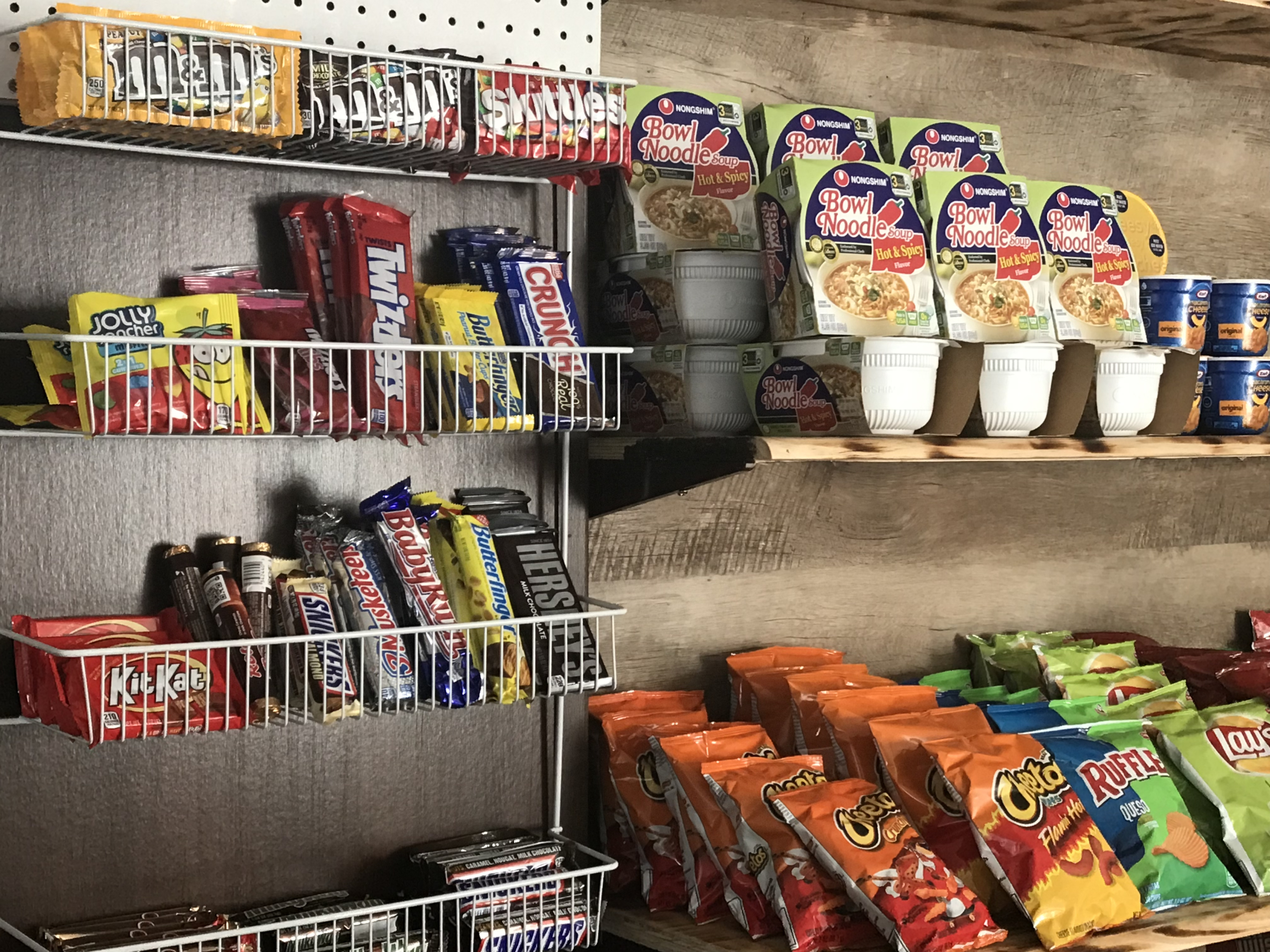 store snacks and grocery items for batl ranch rv resort