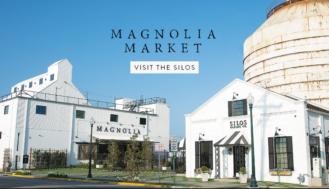 magnolia market and silos daytime image